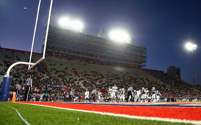 The Arizona Bowl featured two teams from the same conference ... and a lot of empty seats. (USATSI)
