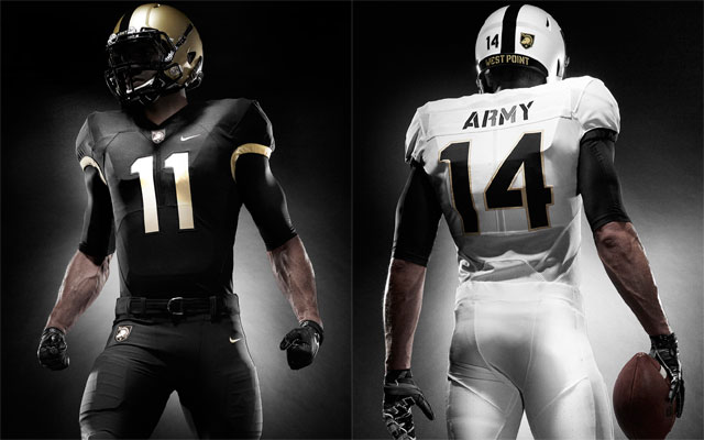 75fae115c2b Army West Point released updated versions of its football uniforms. (Army  West Point)