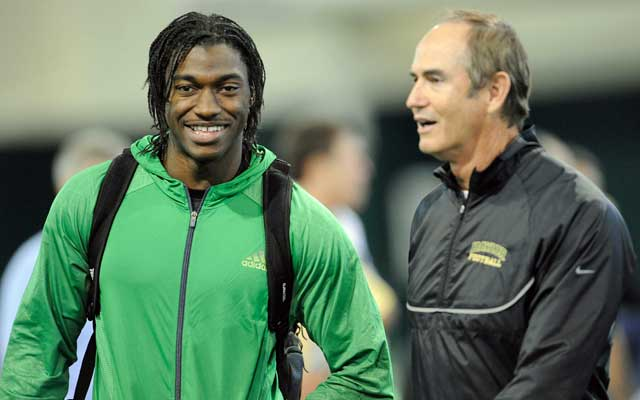 Art Briles was RG3's coach at Baylor. (USATSI)