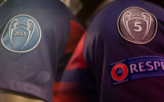 71ec13b2b FC Barcelona adds patches to jersey celebrating 5 Champions League ...