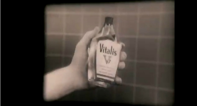 Bart Starr's hand, Vitalis and you. (YouTube)