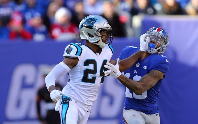 New rule or not, Odell Beckham Jr. should have been ejected vs. the Panthers. (USATSI)
