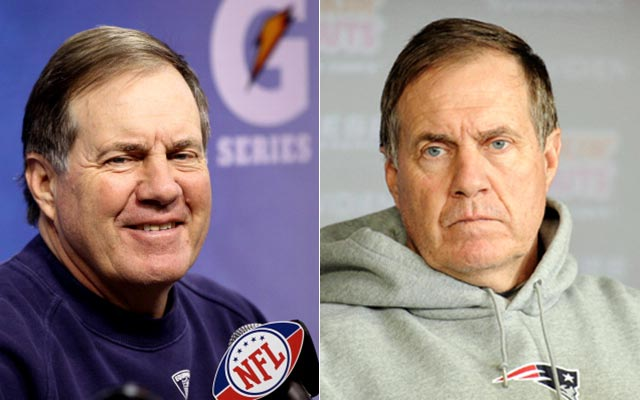 Will Bill Belichick smile for an eighth time this season? (USATSI)