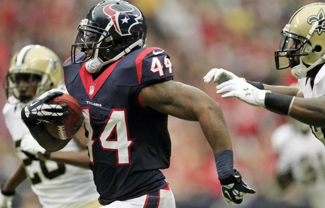 Ben Tate probably won't be in Houston next season. (USATSI)