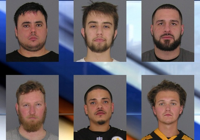 Six fans were arrested for after the Steelers-Bengals game for various offenses. (WCPO)