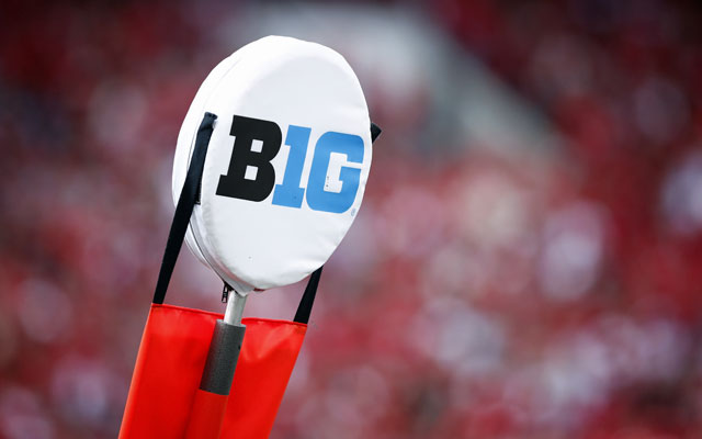 The Big Ten is close to a new TV deal. (Getty Images)