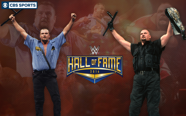 Big Boss Man will be the newest member of the WWE Hall of Fame. (CBS Sports Graphic)