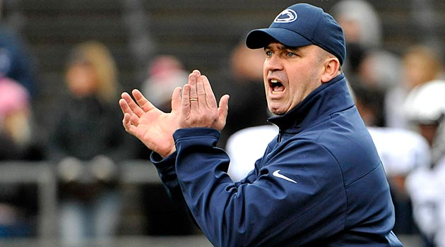 Bill O'Brien met with Penn State trustees Friday. (USATSI)