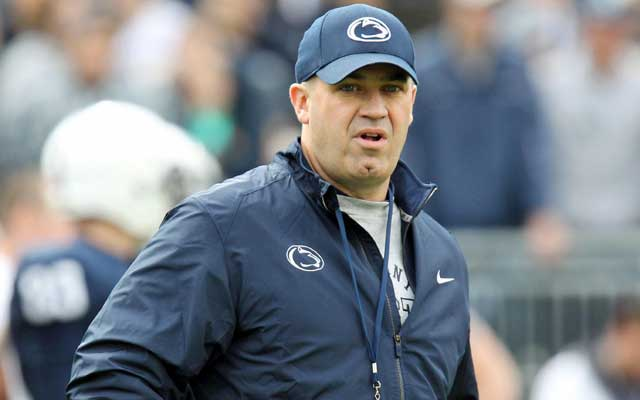 Bill O'Brien worked with the Patriots before joining Penn State. (USATSI)