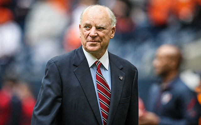 Texans owner Bob McNair is confident the team will be better in 2014. (USATSI)