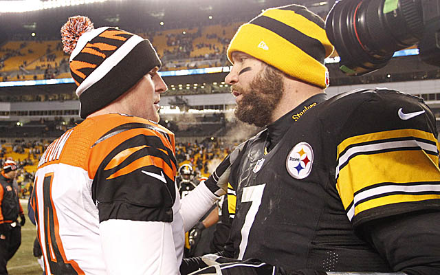 Can the Steelers or Ravens unseat the Bengals in the AFC North? (USATSI)