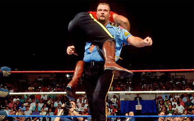 Big Boss Man and The Mountie engaged in a memorable rivalry. (WWE)
