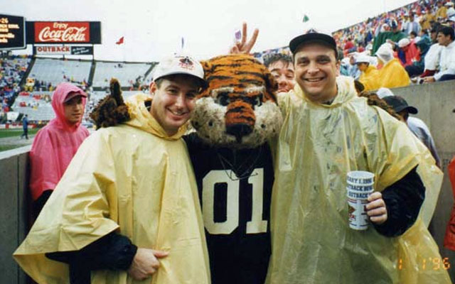 Tom and Brian at the 1996 Outback Bowl. (Bowl Guys)