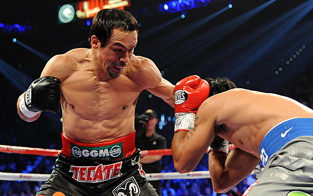 Juan Manuel Marquez could find himself back in the ring with Manny Pacquiao if he beats Mike Alvarado. (USATSI)