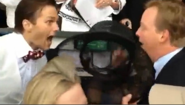 WATCH: Tom Brady is pumped about Orb's win at Kentucky Derby
