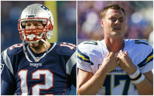 Brady, Rivers both on pace to break single-season passing yards record