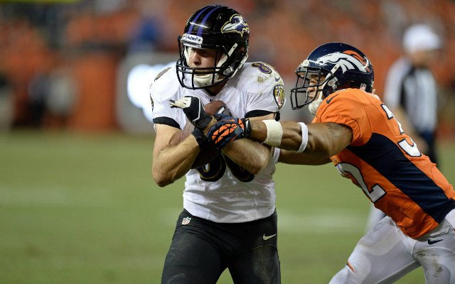 Brandon Stokley only caught nine passes in three games. (USATSI)