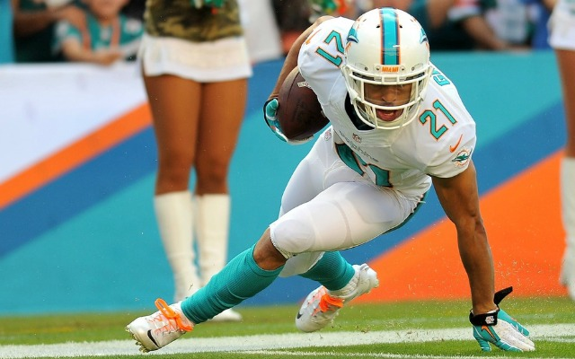 Brent Grimes feels confident he'll get a new contract. (USATSI)