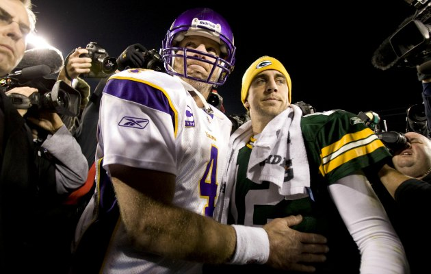Brett Favre says he's not worried about boos. (USATSI)