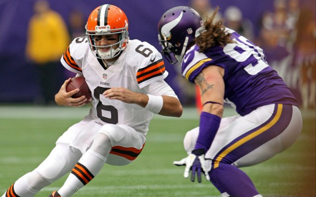 BrianHoyer will start in Week 4. (USATSI)