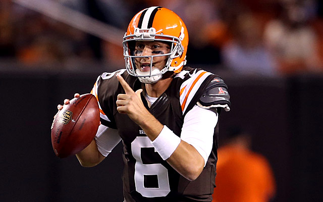 Brian Hoyer is the latest stopgap QB in Houston. (Getty Images)