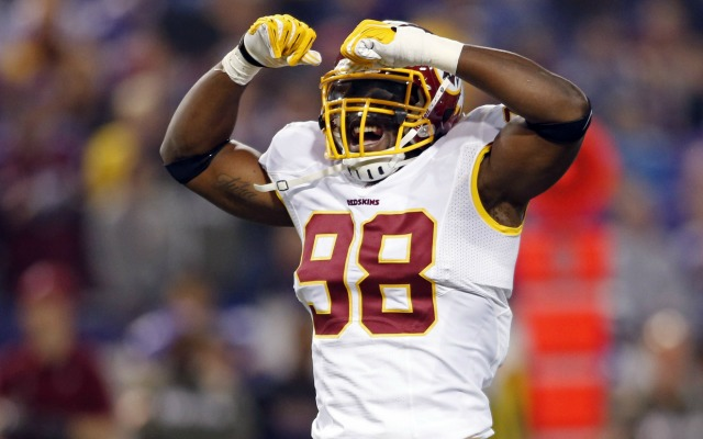 Brian Orakpo is scheduled to make $11.45 million in 2014. (USATSI)