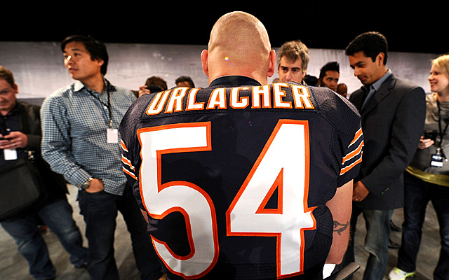Urlacher may have played his last down in Chicago. (Getty Images)