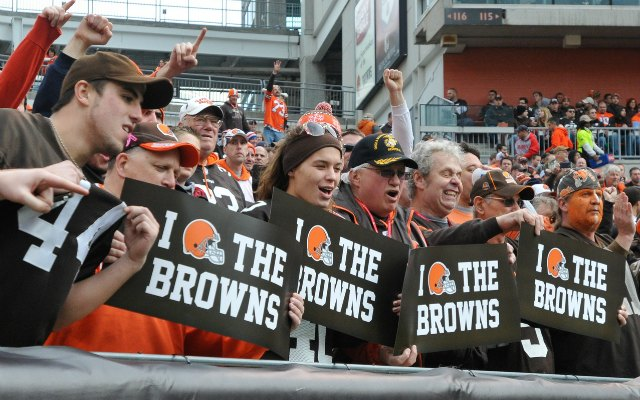 Cleveland fans are a wacky bunch. (USATSI)