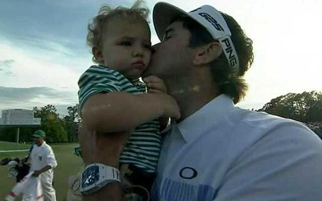 Bubba Watson wins his second Masters tournament. (CBS)