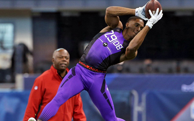 Byron Jones wowed scouts at the combine.