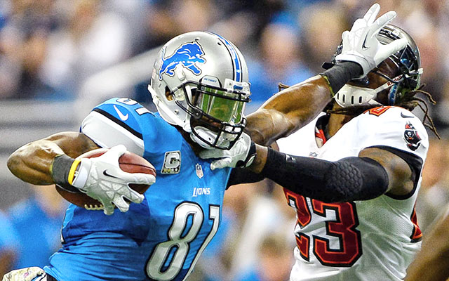 Nfl Week 17 Injuries Lions Declare Wr Calvin Johnson Knee Out Cbssports Com