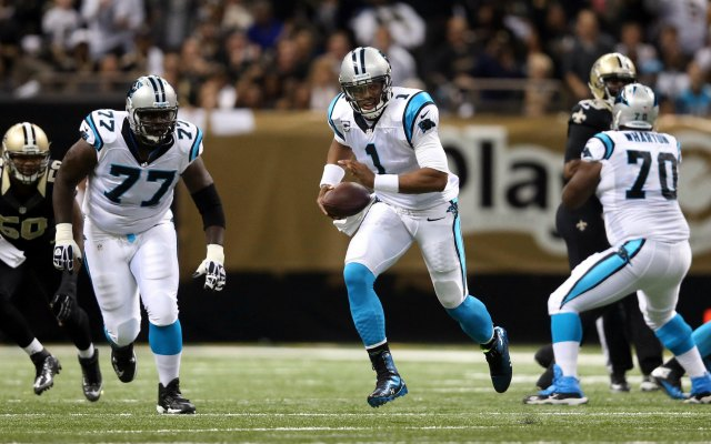 Cam Newton and the Panthers should get by the Saints at home this weekend. (USATSI)