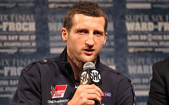 Carl Froch beat George Groves on a controversial stoppage six months ago. (USATSI)