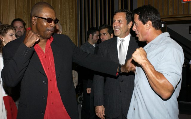 Carl Weathers is still quite the showman. (USATSI)