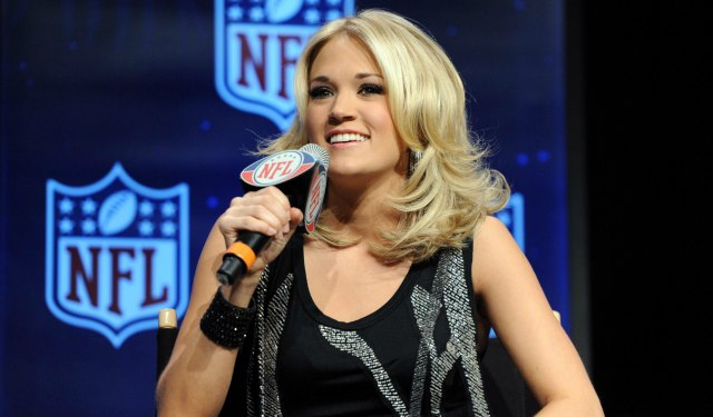 This is the new singer for 'Sunday Night Football.' (USATSI)