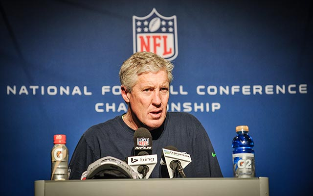 Pete Carroll says weather could force the Seahawks to practice indoors. (USATSI)