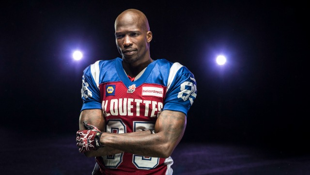 Chad Johnson last played in the NFL in 2011. (en.montrealalouettes.com)