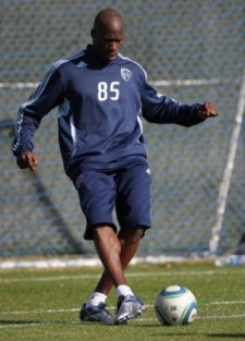 C. Ochocinco had a better second day in his MLS tryout (Getty).