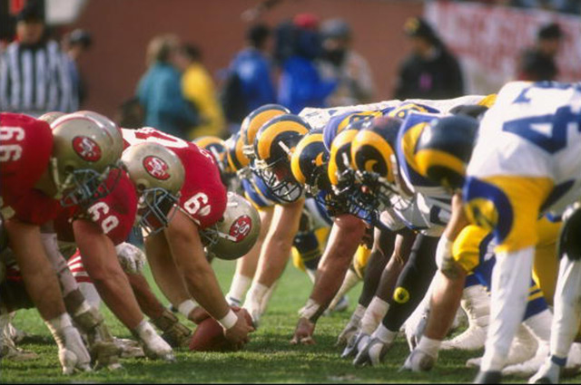 LOOK The Rams First 48 Years In LA In 9 Photos One