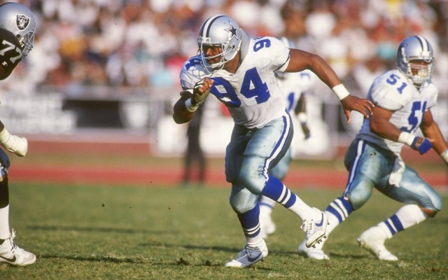 Charles Haley won five NFL titles in his career. (Getty Images)