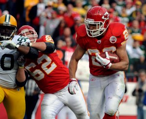 J. Battle managed the only Kansas City touchdown of the day (US Presswire).