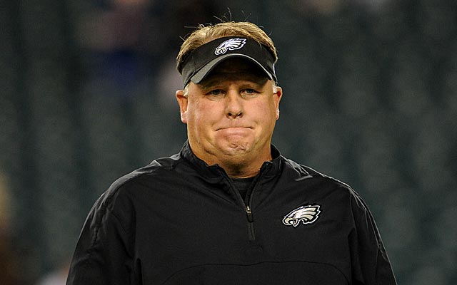 Chip Kelly could do without all the hype surrounding the draft. (USATSI)