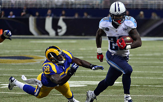 Chris Johnson has a chip on his shoulder heading into 2014.