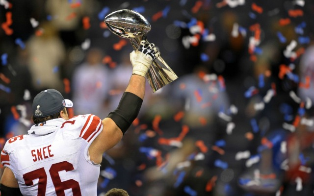 Chris Snee won two NFL titles with the Giants. (USATSI)
