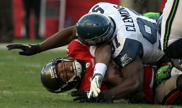 Chris Clemons is out of Seattle. (USATSI)