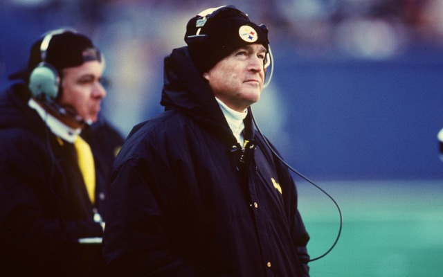 Chuck Noll won four Super Bowls in Pittsburgh. (Getty Images)