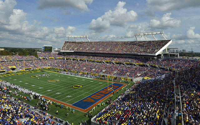 Michigan and Florida sold out the Citrus Bowl on New Year's Day. (USATSI)