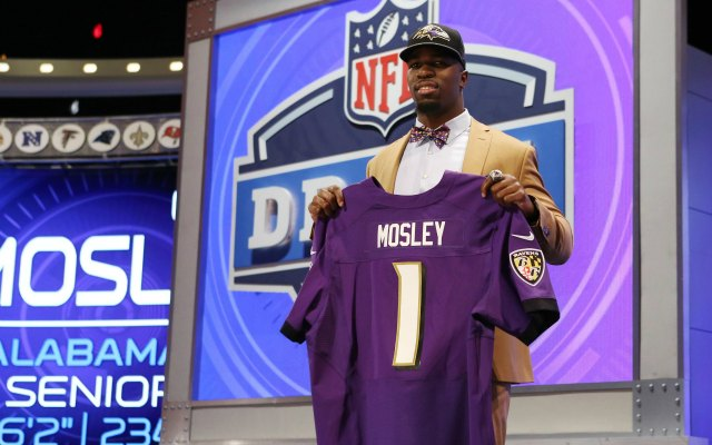 C.J. Mosley should make about $8.8 million in four years. (USATSI)