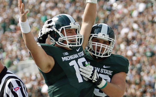 Barely recruited, Spartans QB Connor Cook now a top NFL prospect