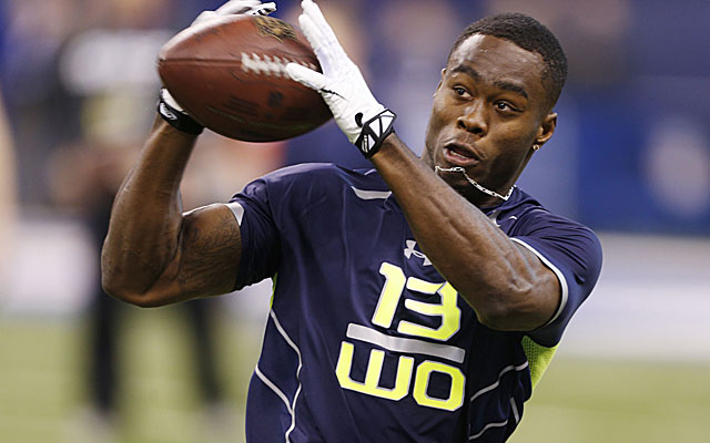 Oregon State's Brandin Cooks tied Pittsburgh State's John Brown for best 40 time as of Sunday afternoon. (USATSI)